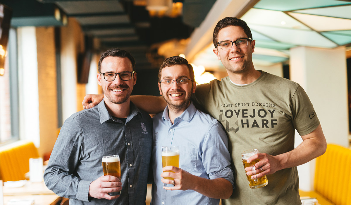 Night Shift Brewing Founders