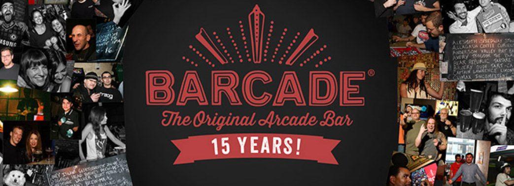 Barcade Celebrating 15 Years at its original Williamsburg, Brooklyn location