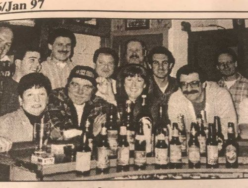 Newspaper clipping of ale st team circa 1996