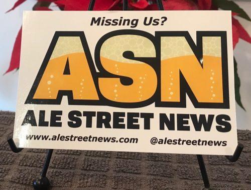 Ale Street News banner
